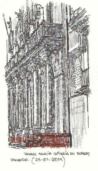 Burgos. Palacio de Capitanía