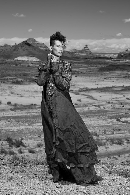 Felicia Davis in the Bisti Wilderness