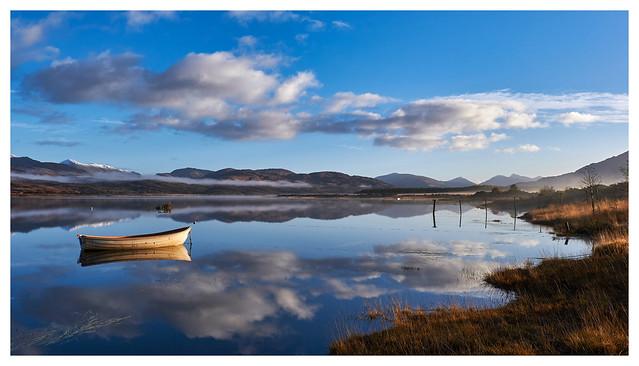Autumn Morning on Loch, Fujifilm X-T3, XF18-135mmF3.5-5.6R LM OIS WR