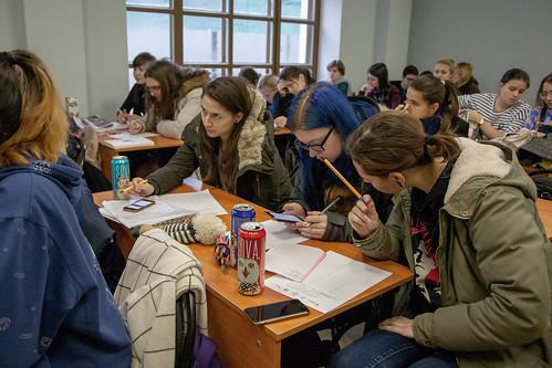 Ноя 2 2018 - 11:44 - 2 ноября 2018 студенты и преподаватели института написали 'Большой этнографический диктант'