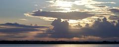Belize Sunrise, Lamanai Outpost Lodge 2018-11-10 Panorama