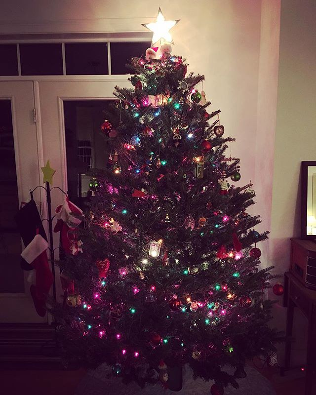 🎄 Now I'm feeling Christmasy. #christmastree