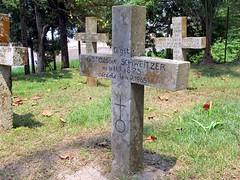 Grave of Albert Schweitzer