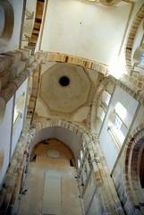 Roof vaults, the Abbaye de Cluny, Saône-et-Loire, France.