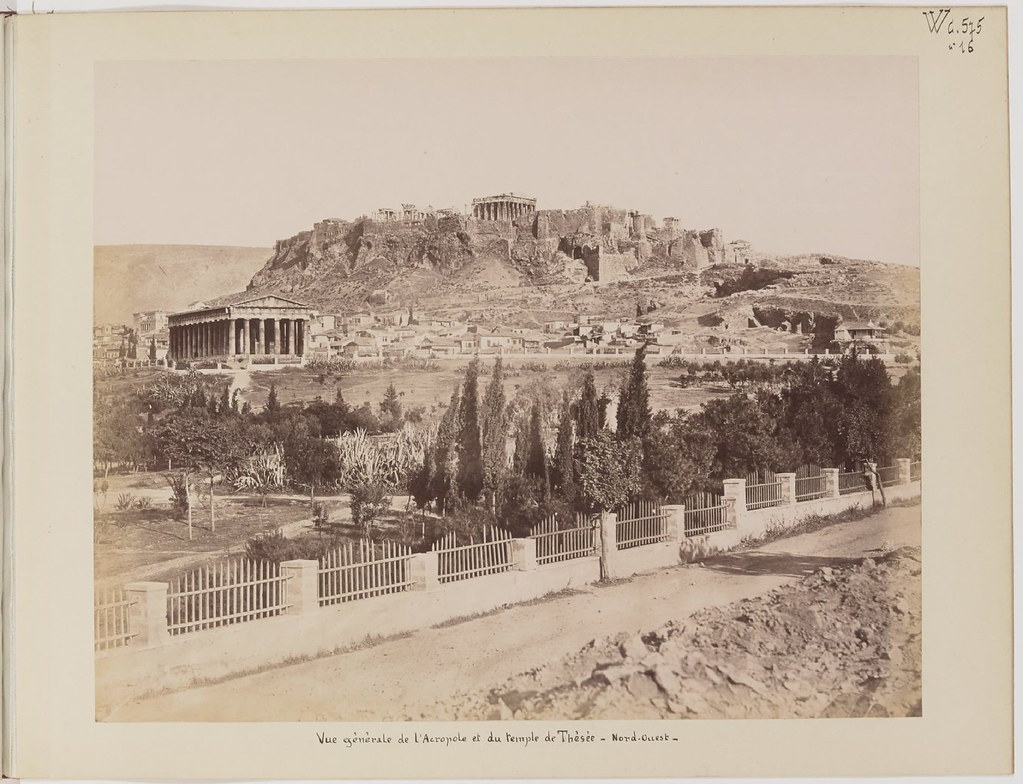 Альбом из 21 фото. из Афин и Пирея в 1880 году, подарок доктора Фювьера-23