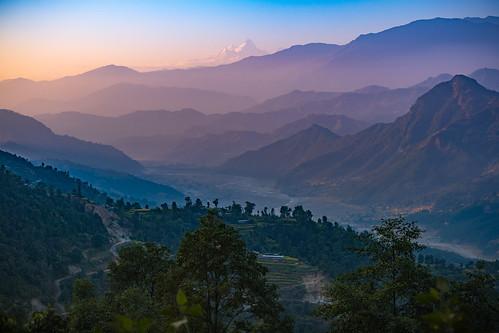 tibet2018 sunset nepal thanapati bagmatizone np