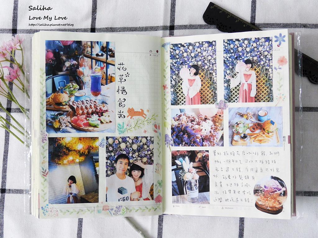 手帳日記裝飾分享紙膠帶設計水彩遊記 (18)