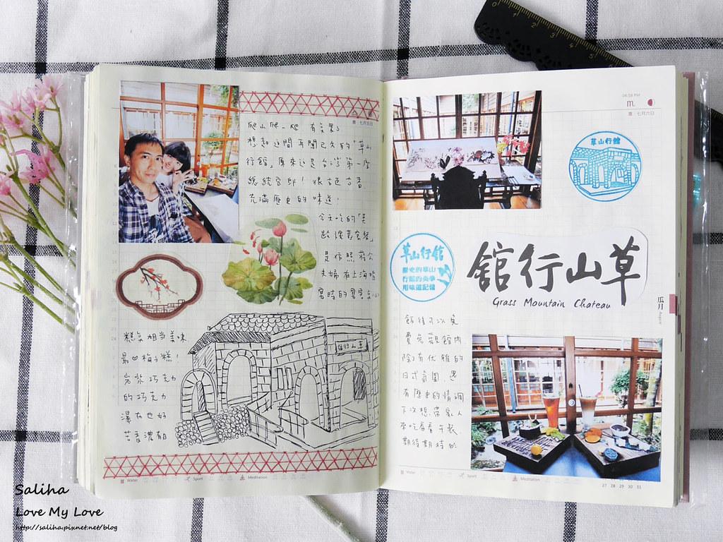 手帳日記裝飾分享紙膠帶設計水彩遊記 (9)