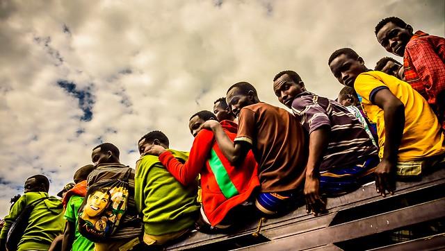 Transporte al trabajo, Ethiopia