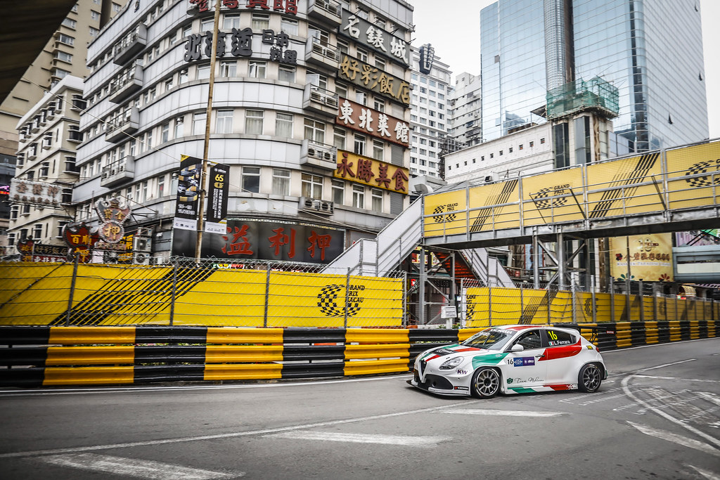 16 FERRARA Luigi  (ITA), Mulsanne Srl, Alfa Romeo Giulietta TCR, action during the 2018 FIA WTCR World Touring Car cup of Macau, Circuito da Guia, from november  15 to 18 - Photo Francois Flamand / DPPI