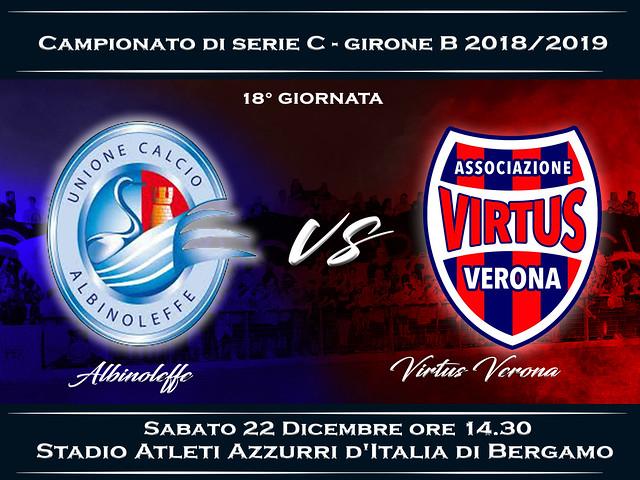 Albinoleffe - Virtus Verona 1-0 FINALE