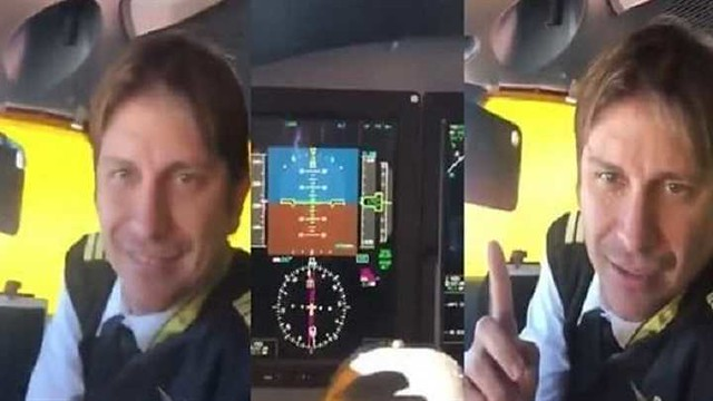4807 Brazilian Pilot converts to Islam while flying the plane above Saudi Arabia