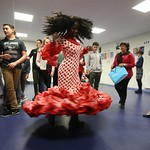 La compagnie José Galán initie les collégiens de Saint-Martin-de-Seignanx au flamenco