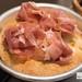 Prosciutto topped focaccia