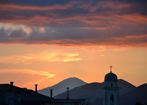 Tramonto sul Vesuvio - Sunset on the Vesuvio
