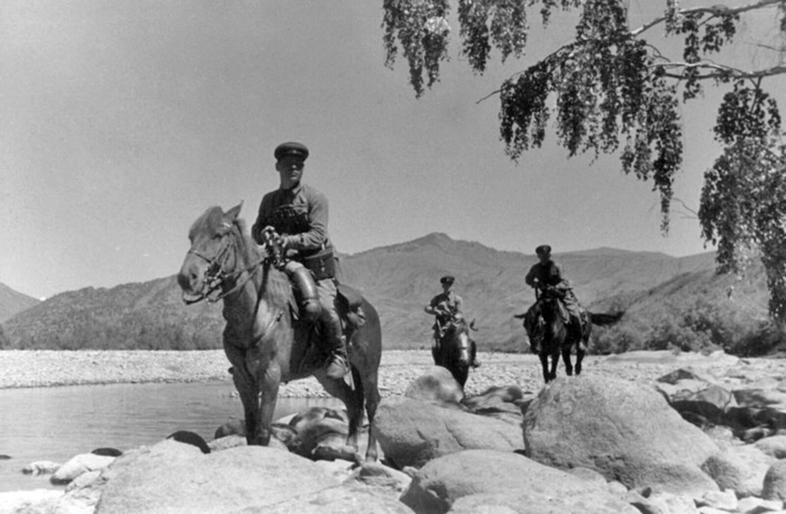 1940. Катон-Карагайский район Восточно-Казахстанской области Казахской ССР. Август  (8)