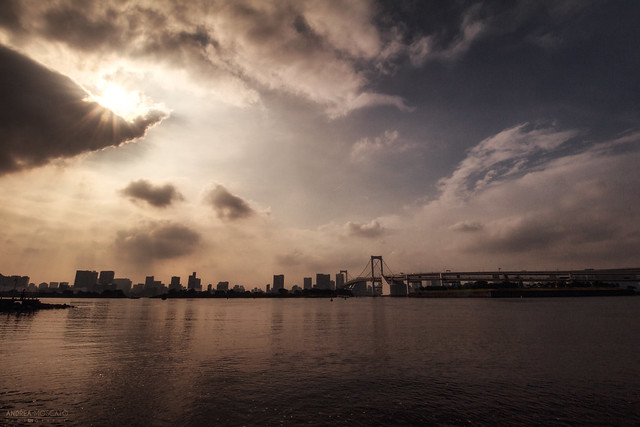 Tokyo Skyline and Rainbow Bridge - Tokyo (Japan)