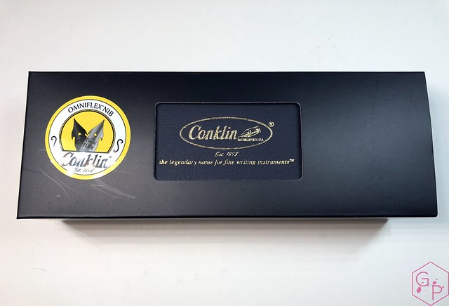 Conklin Empire Stardust Blue Fountain Pen with OmniFlex Nib 3