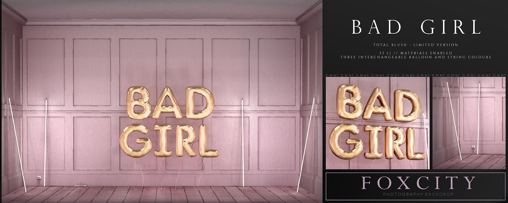 FOXCITY. Photo Booth – Bad Girl (Total Blush – Limited) @ Limit8