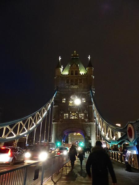 traversée de la Tour de Londres