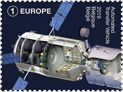 06 Belgie in de ruimte zegelD