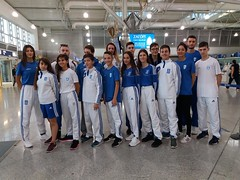 Lazaros Gavalas BRONZE MEDAL Roumania Bucuresti International Tae Kwon Do Championship EL VENIZELOS AIRPORT