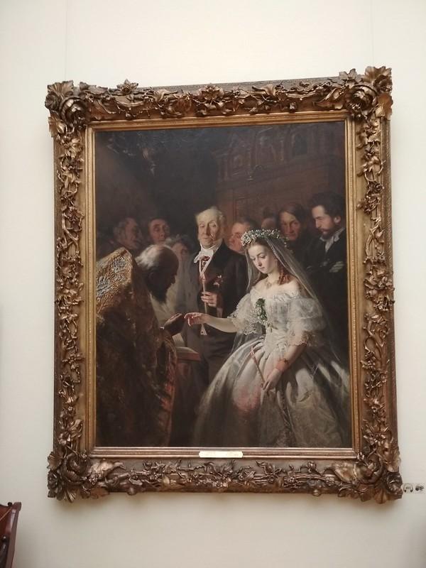 Москва - Третьяковская галерея - Неравный брак