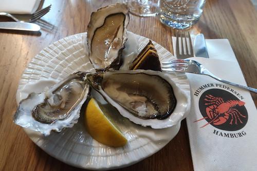 Französische, irische und Sylter Auster