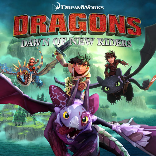DreamWorks Dragons Dawn of New Riders