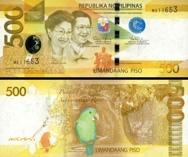 500 Piso Filipíny 2014, P210