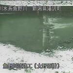 魚野川魚野川流路工(大野原橋)ライブカメラ画像. 2018/12/13 10:18