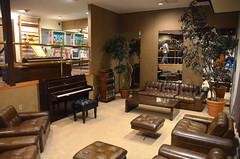 Lounge with the piano