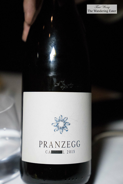 Pranzegg 'Campill' 2015 to pair with risotto course