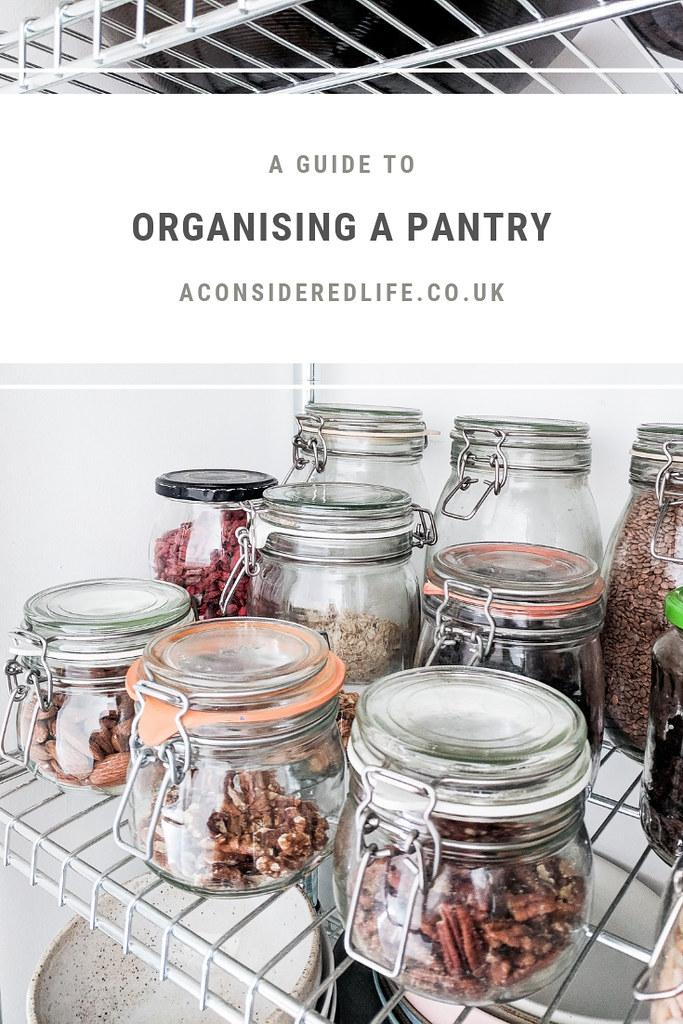 Organising A Pantry