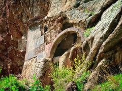Church carved into the rock