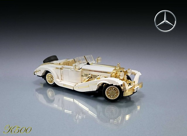 LEGO 1936 Mercedes-Benz 500K Special Roadster (W29)
