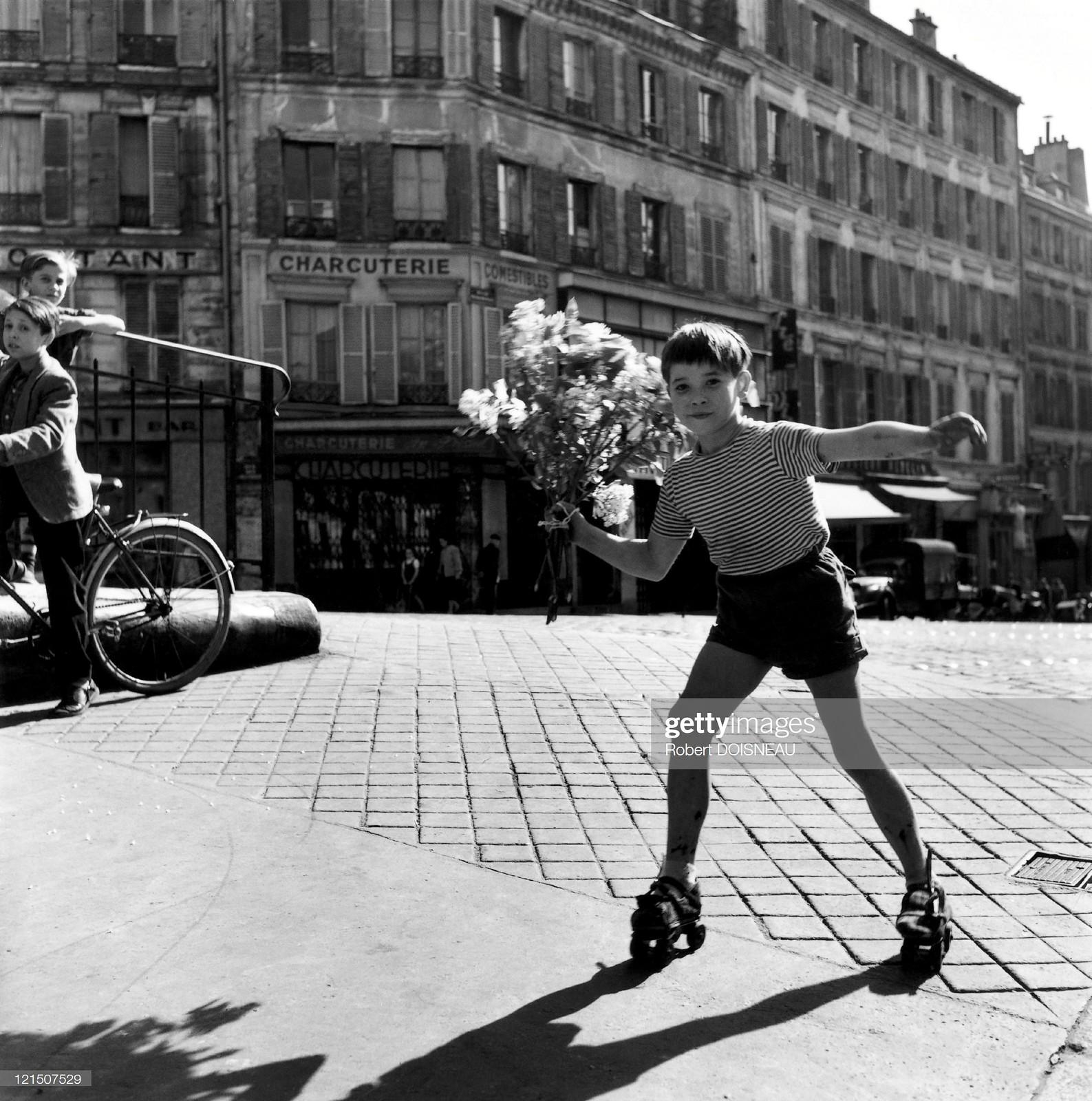 1956. Париж, Менильмонтан. Букет