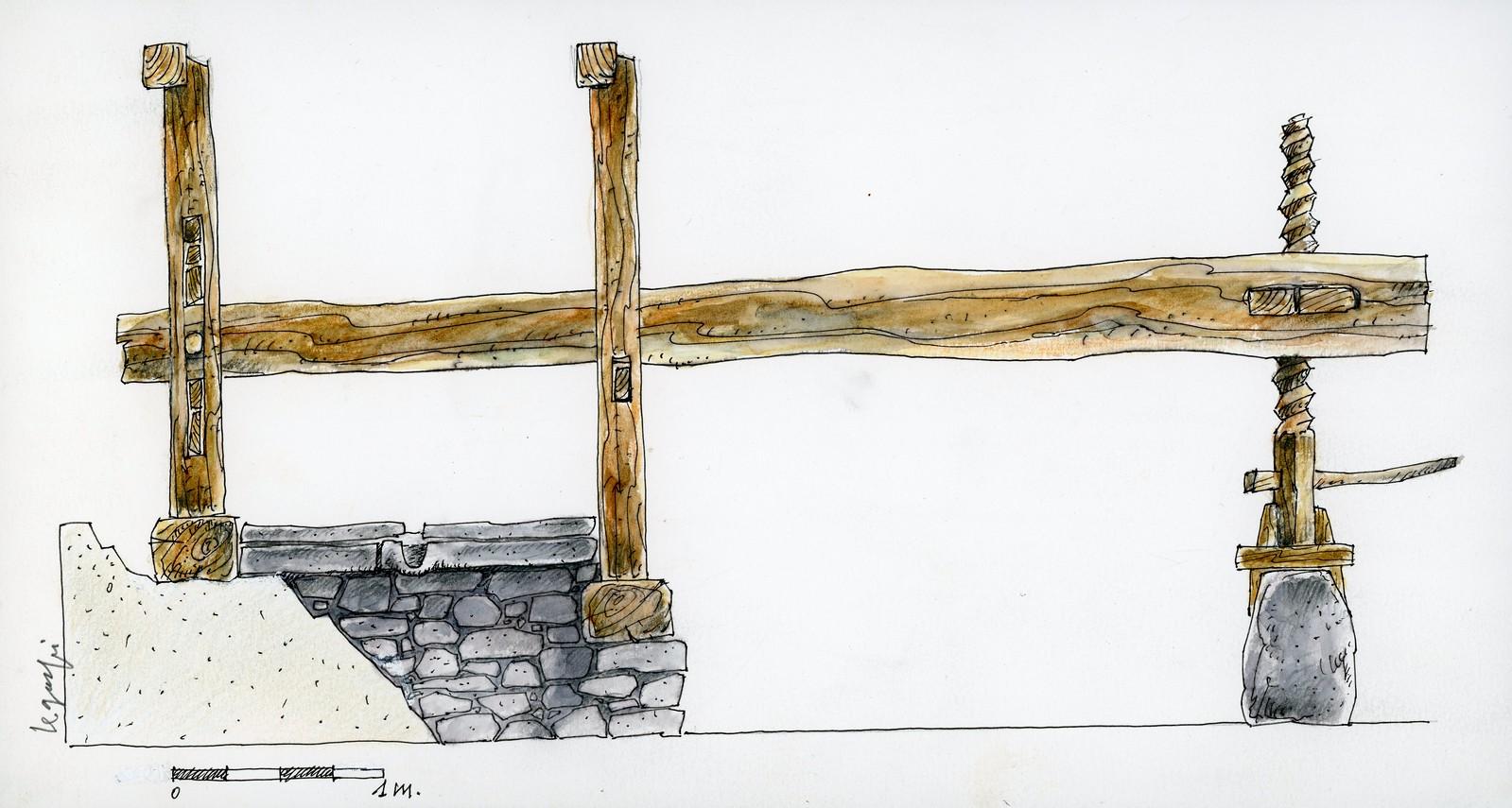 Lagar de La Queipa (dib.1)