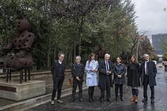 dj., 15/11/2018 - 11:42 - Inauguració donació 6 escultures Museu Can Framis 08