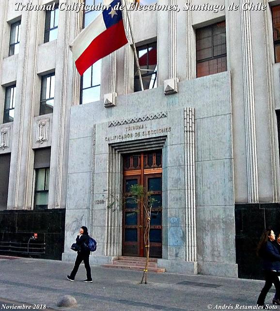 Tribunal Calificador de Elecciones, Santiago de Chile, Noviembre 2018