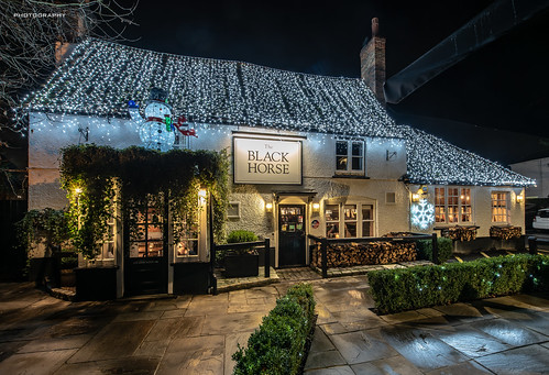Christmas is coming - The Black Horse {Explore 4/12/18 #30}