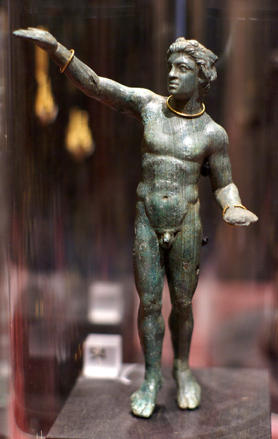 Statuette eines Satyrs Statuette, Sony DSLR-A100, Sony 50mm F1.4 (SAL50F14)