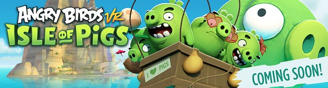 Angry Birds VR Isle of Pigs Coming Soon Image
