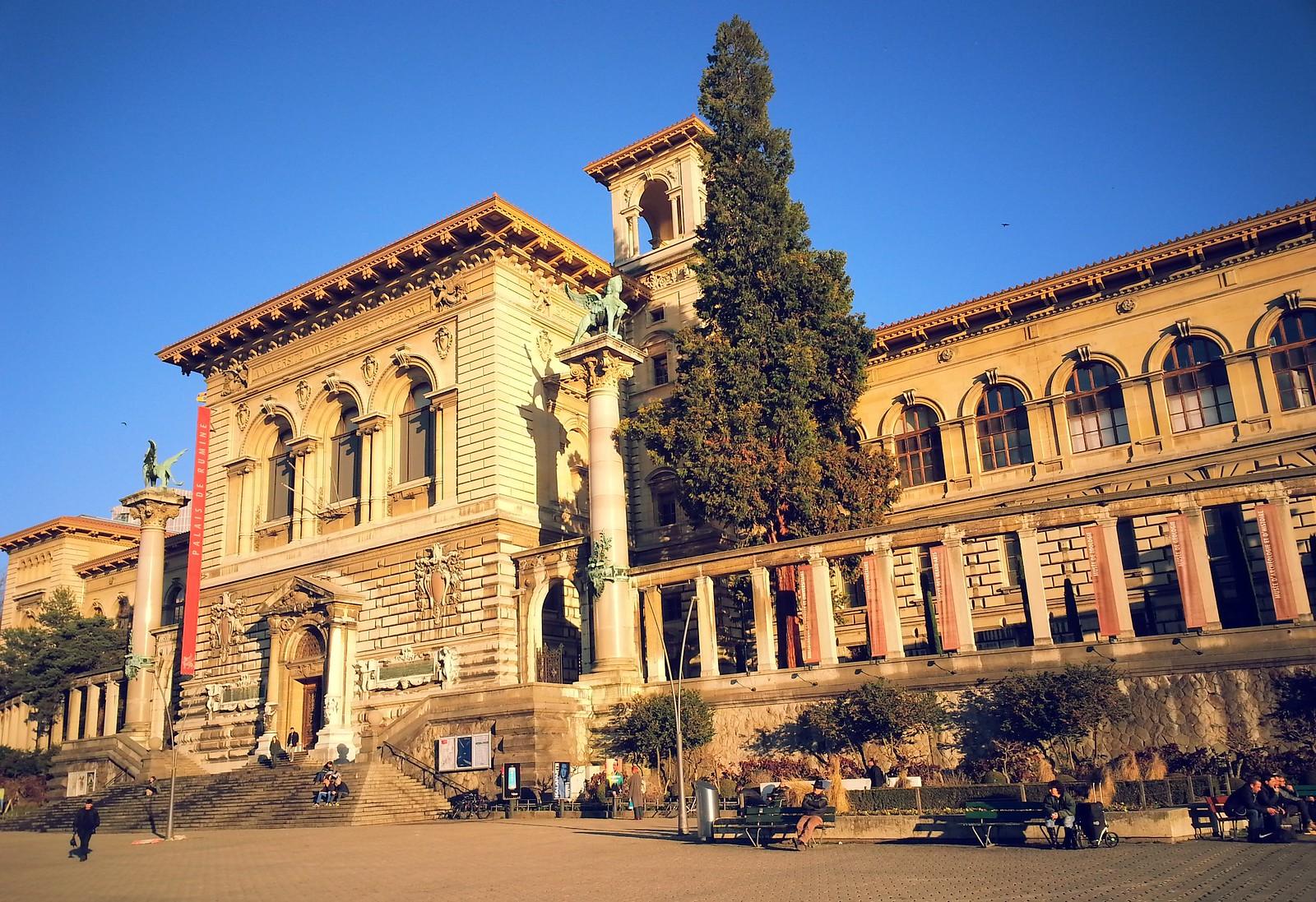 16-01-29 (Lausanne) Palais de Rumine.