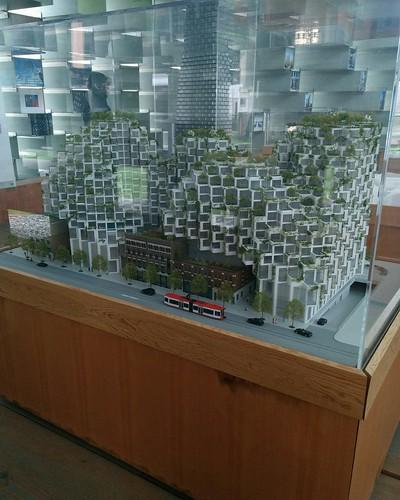 King #toronto #unzippedtoronto #serpentinepavilion2016 #bjarkeingels #architecture #latergram