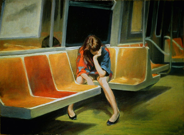 Q Train (1990) by Nigel Van Wieck