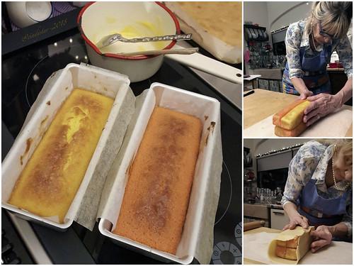 facendo battenberg cake