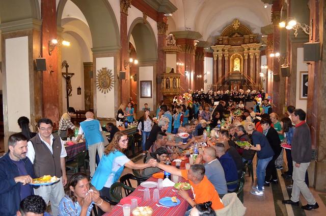 JMP 2018: almuerzo en catedral