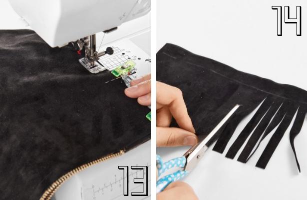 DIY Fashion Clutch Steps 13 14