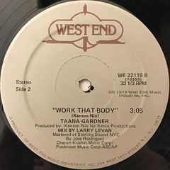 TAANA GARDNER:WORK THAT BODY(LABEL SIDE-B)